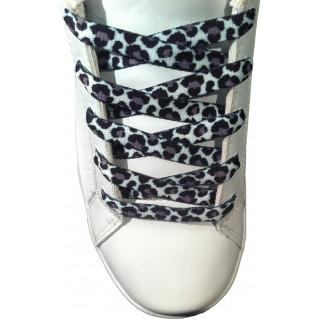 Gepardikuvioiset kengännauhat