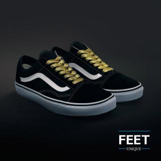 Kultaiset & hopeiset kengännauhat