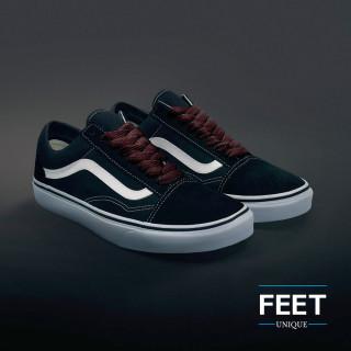 Ekstraleveät tummanruskeat kengännauhat