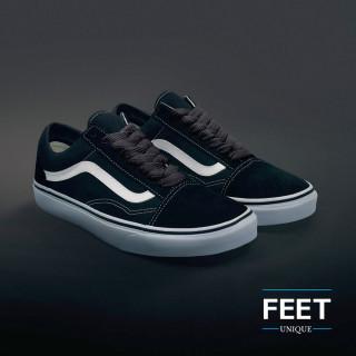 Ekstraleveät tumman harmaat kengännauhat
