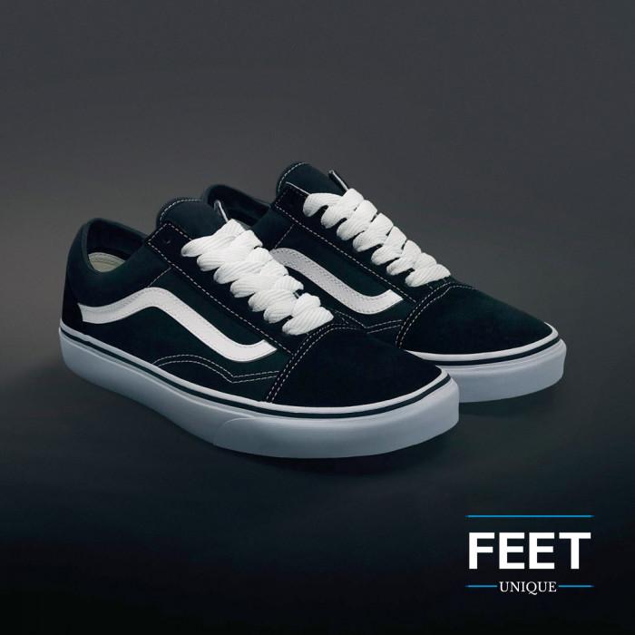 Ekstraleveät valkoiset kengännauhat