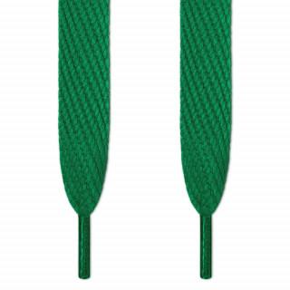 Superleveät vihreät kengännauhat