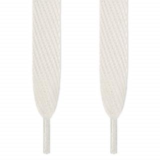 Superleveät valkoiset kengännauhat