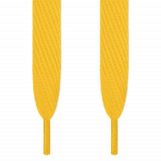 Superleveät keltaiset kengännauhat