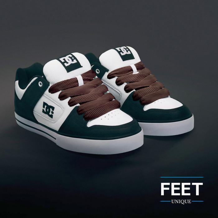 Superleveät ruskeat kengännauhat
