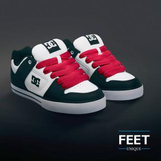 Superleveät punaiset kengännauhat