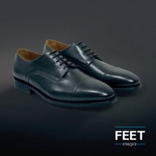 Ohuet pyöreät mustat kengännauhat