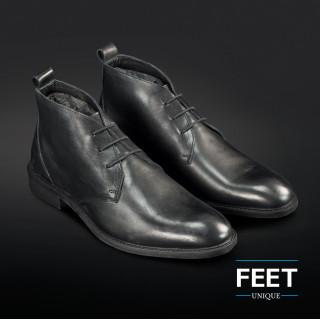 "Mustat ""No Tie"" kengännauhat puvunkengille"