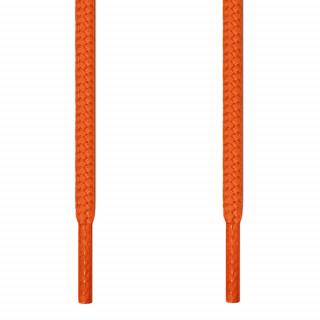 Pyöreät oranssit kengännauhat