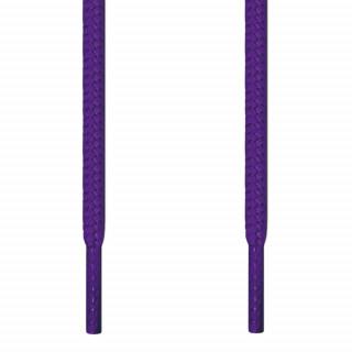 Pyöreät violetit kengännauhat