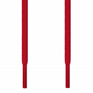 Pyöreät punaiset kengännauhat