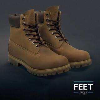 Pyöreät tumman ruskeat kengännauhat