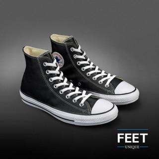 Joustavat litteät valkoiset kengännauhat (sitomattomat)