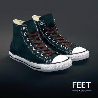 Litteät tumman ruskeat kengännauhat