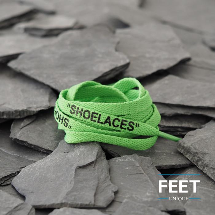 Vihreät OFF-WHITE Shoelaces  -kengännauhat