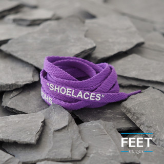 Violetit OFF-WHITE Shoelaces -kengännauhat