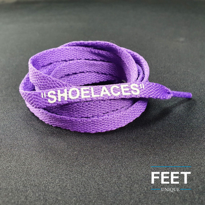 Violetit OFF-WHITE Shoelaces -kengännauhat