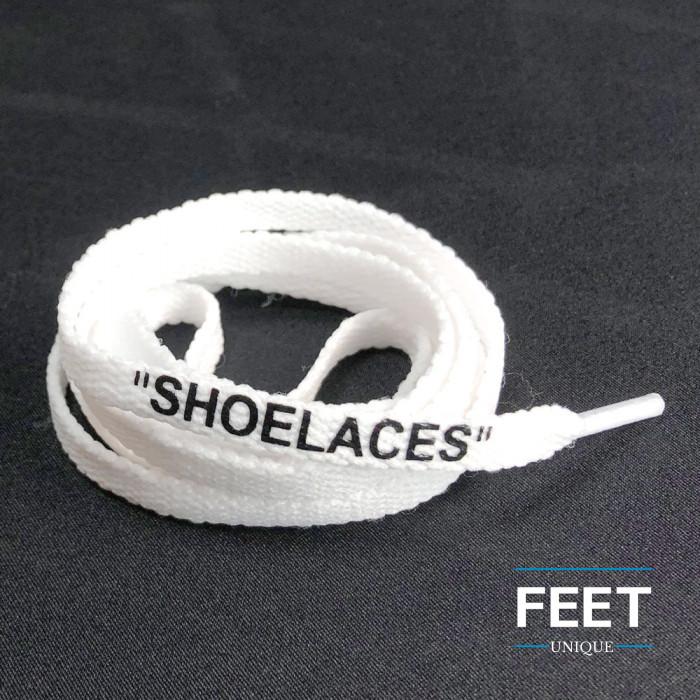 Valkoiset OFF-WHITE Shoelaces  -kengännauhat