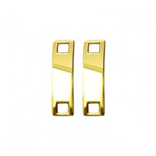 Kultaiset kengännauha-amuletit