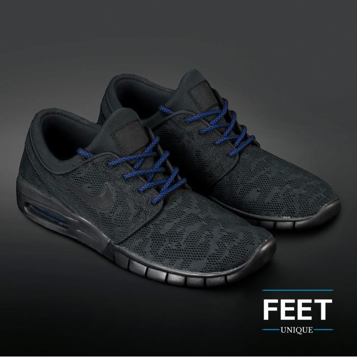 Adidas Yeezy - Köysinauhat musta ja sininen